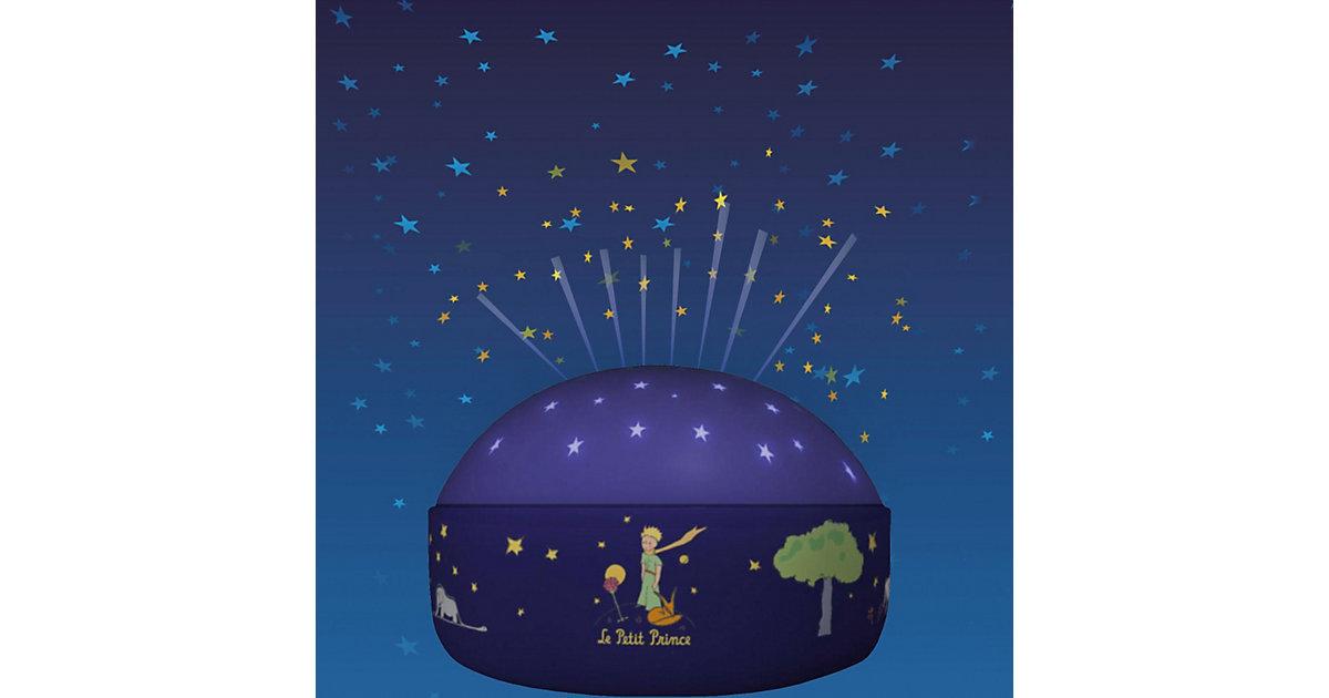 Nachtlicht Der kleine Prinz, LED Sternenlicht mit Farbwechsler blau