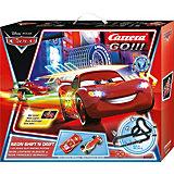 CARRERA GO!!! 20062332 Disney/Pixar - Neon Shift 'n drift, 6,2m