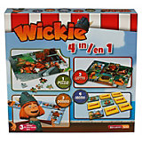 Wickie Spielebox 4-in-1