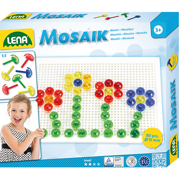 Design Studio Mosaik Transparent, 72-tlg.