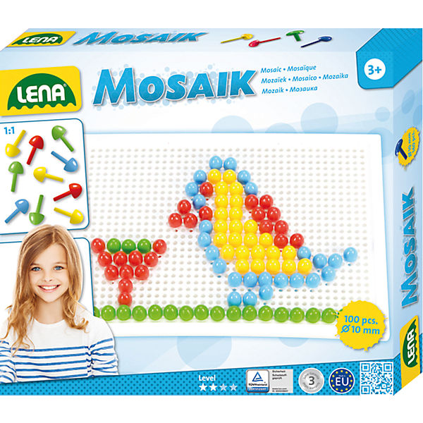 Design Studio Mosaik color, 100-tlg.