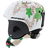 Alpina Skihelm Carat LE white-mint