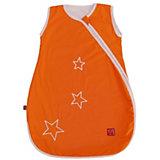 Sommer- Schlafsack Star Sidezip, orange