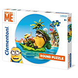 Rundpuzzle - 212 Teile -  Minions