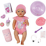 BABY born Babypuppe interactive Girl, 43 cm