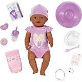 BABY born Babypuppe interactive ethnic, 43 cm