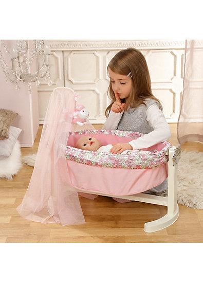 baby annabell wiege mit nachtlicht zapf creation mytoys. Black Bedroom Furniture Sets. Home Design Ideas