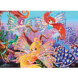"Пазл ""Морской риф"", Winx Club, 260 деталей, Castorland"