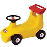 Игрушка-каталка с рулем и спойлером, желтая, Little Tikes