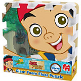 Mega großes Bodenpuzzle 9 Teile - Disney Jake und die Nimmerland Piraten