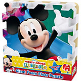 Mega großes Bodenpuzzle 9 Teile - Mickey Mouse Clubhouse