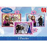 Disney Die Eiskönigin 3in1 Puzzles 50 Teile
