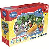 Disney Mickey Mouse Clubhouse Konturenpuzzle 15 Teile