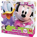 Mega großes Bodenpuzzle 9 Teile - Minnie Mouse