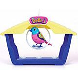 Digibird Ruby mit Vogelhaus rosa, blau
