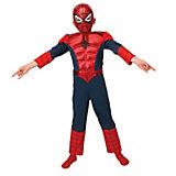 Kostüm Ultimate Spiderman mit Muskeln