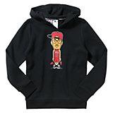 adidas Performance Sweatshirt für Jungen, schwarz