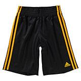 adidas Performance Basketball Shorts für Jungen, schwarz-gelb