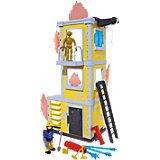 Feuerwehrmann Sam großer Trainings-Turm mit Figur