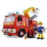 Feuerwehrmann Sam Jupiter mit Figur