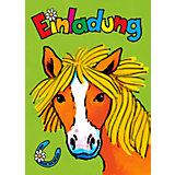Kindergeb.-Einladung Pferd Mein Ponyhof