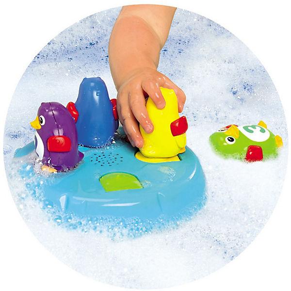 """Игрушка для ванной """"Остров Пингвинов-Прыгунов"""", TOMY"""