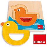 GOULA - Lagenpuzzle Ente