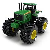Tрактор с большими колесами и вибрацией, Monster Thread