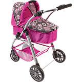 Puppenwagen Kombi EMILIA Hot Pink Pearls