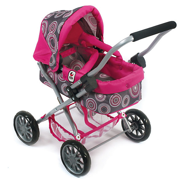 Puppenwagen Smarty, Hot Pink Pearls