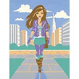 Malen nach Zahlen Fashion ab 8 Citygirl