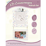 3D-Erinnerungen Abdruck-Set Foto Plus