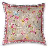 Kuschelkissen Chinese Blossom, Khaki, 45 x 45 cm