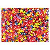 Kunststoffperlen Rohre, 100 Stück