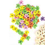 Puzzlebuchstaben, 2.000 Stück