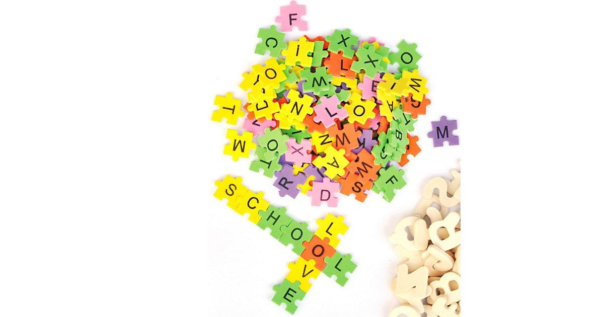 Moosgummi Puzzle-Buchstaben, 2.000 Stück