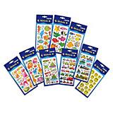 Puffy Stickers, über 100 Stück