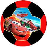Футбольный мяч, однослойный, размер 3, Тачки