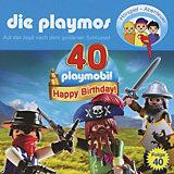 CD Die Playmos 40 - Die Jagd nach dem goldenen Schlüssel