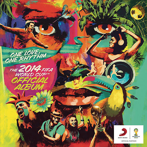 CD One Love, One Rhythm - The Official 2014 FIFA World Cup