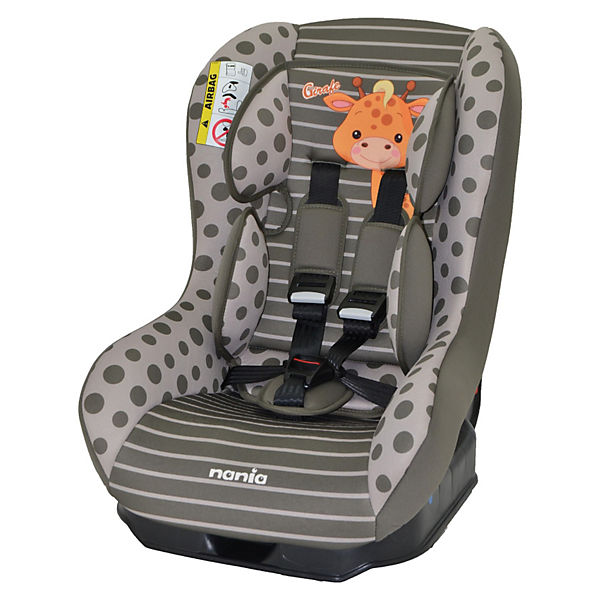 Автокресло Nania Driver 0-18 кг, girafe