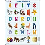 Rahmenpuzzle 15 Teile Buchstaben-Puzzle
