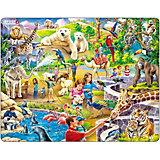 Rahmenpuzzle 48 Teile Zoo