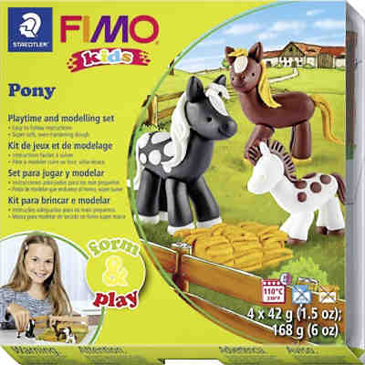 FIMO kids Form & Play Pony