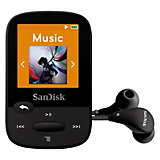 SanDisk MP3 Player 4GB Sansa Clip Sports schwarz