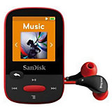 SanDisk MP3 Player 4GB Sansa Clip Sports Rot