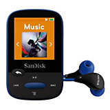 SanDisk MP3 Player 8GB Sansa Clip Sports Blau