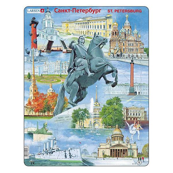 "Пазл ""Санкт-Петербург"",  Larsen, 60 деталей"