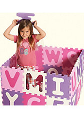 Puzzlematte pink, 36-teilig - Exklusivartikel