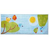HABA 301072 Kinderteppich Kleine Vögelchen, 60 x 140 cm